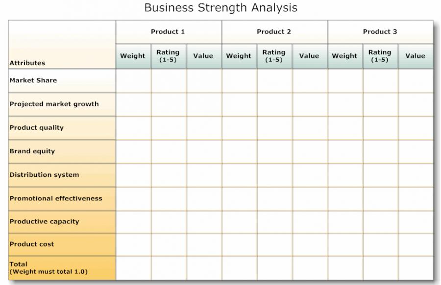 Financial Needs Analysis Template Free